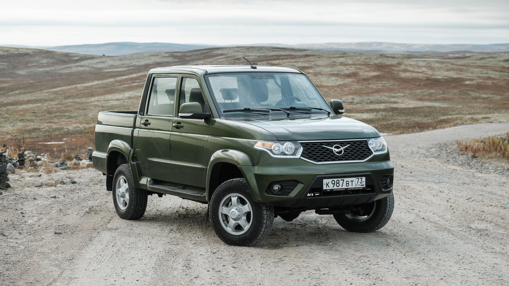 УАЗ «Пикап» поступил в продажу в Иране